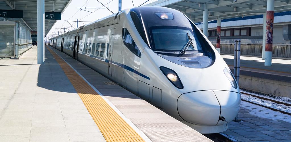 50キロも離れた家に帰るために乗る電車のイメージ