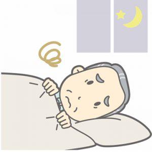 睡眠不足のイメージ