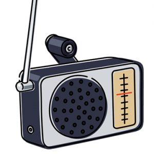 アナログラジオのイメージ