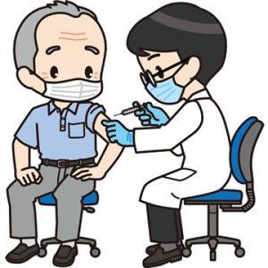 コロナウィルスのワクチン注射